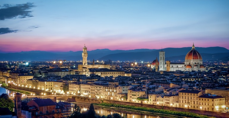 Florence #1 Capricorn Travel Destination