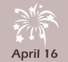 April 16 Birthdays