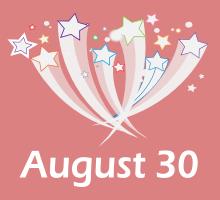 August 30 Birthdays