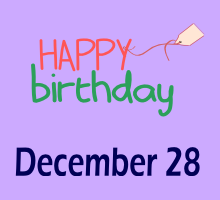 date of birth 28 december meanings in numerology