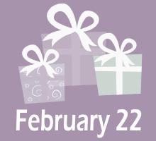 February 22 Birthdays