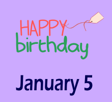 leo january 5 birthday astrology