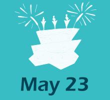 May 23 Birthdays