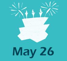 May 26 Birthdays