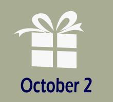 October 2 Birthdays