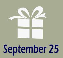 September 25 Birthdays