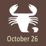 october 26 2019 birthday horoscope scorpio