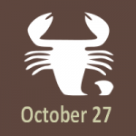 what horoscope sign is october 27 2019