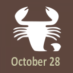 october 28 sign of horoscope