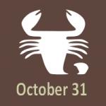 October 31 Zodiac - Full Horoscope Personality