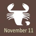 scorpio november 11 birthday astrology