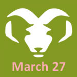 March 27 Birthday Horoscope