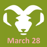 birthday march 28 horoscope