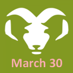 March 30 Zodiac Sign