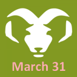 March 31 zodiac, Aries