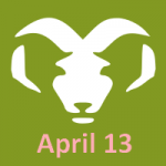 April 13 zodiac, Aries