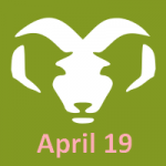 April 19 zodiac, Aries