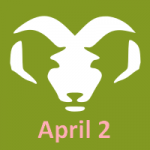 April 2 zodiac, Aries