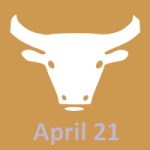 April 21 zodiac, Taurus
