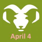 birthday horoscope for 4/4