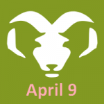 April 9 Zodiac Aries
