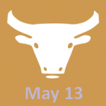 May 13 zodiac, Taurus