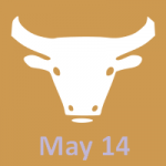 May 14 zodiac, Taurus
