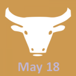 May 18 zodiac, Taurus
