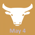 May 4 zodiac, Taurus