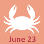 June 23 zodiac, Cancer