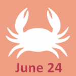 June 24 zodiac, Cancer