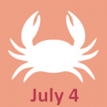 July 4 zodiac, Cancer