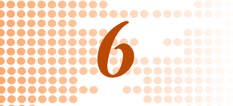 Numerology Compatibility for 6
