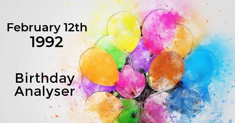born on 12 february numerology