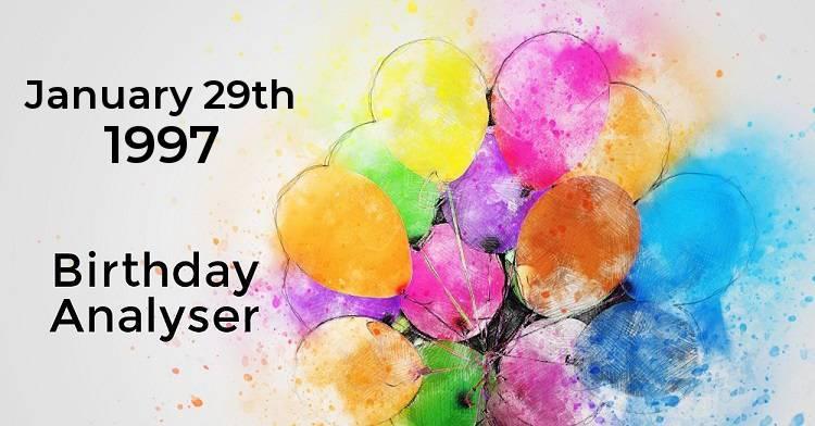 date of birth 29 january numerology analysis